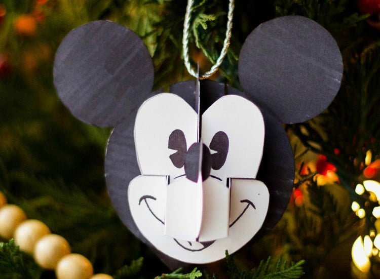 Mickey Pop-Up Ornament
