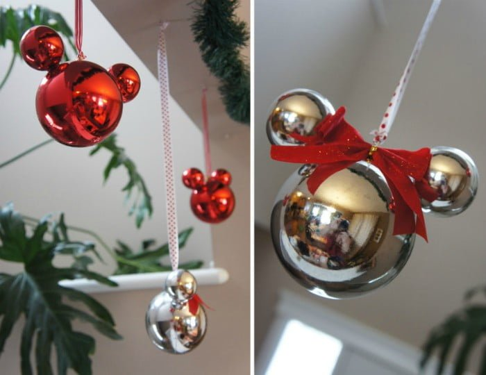 Mickey and Minnie Baubles