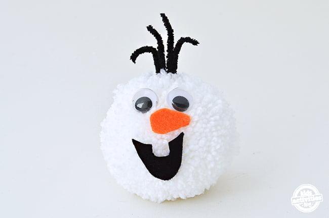 Olaf Pom Pom Ornaments