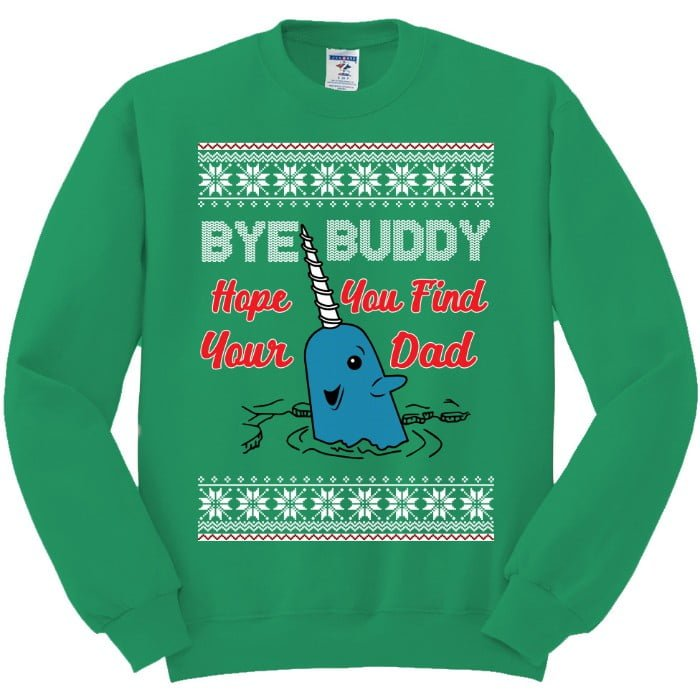 Christmas Narwhal Sweater