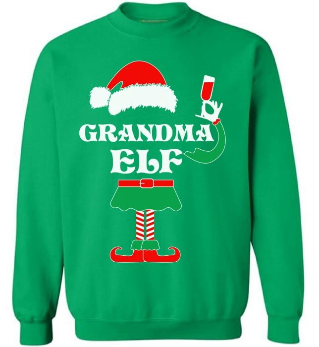 Grandma Elf Sweater