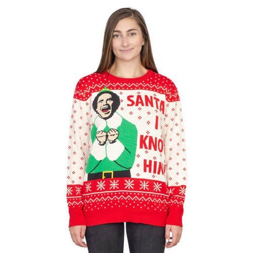 Santa I Know Him Sweater